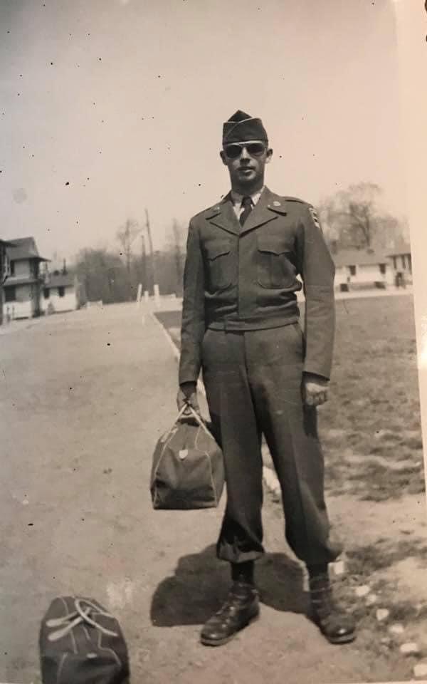 Corporal J. Philip Huppmann, USA