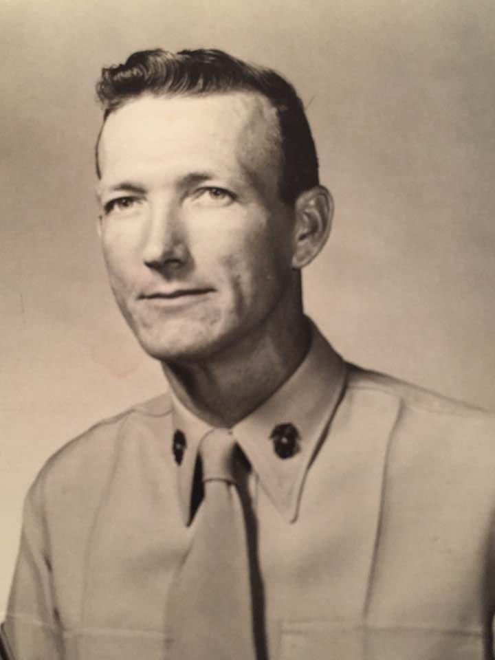 Eugene F. McElhaney, Master Sergeant, USMC, Retired....served in the Korean War and Vietnam War